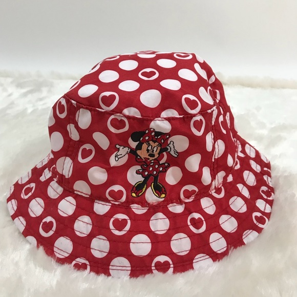 Disney Other - Walt Disney Parks Minnie Mouse Hat Toddler Red 8e7f97105ce5